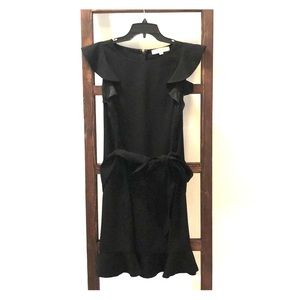 Loft Little Black Dress with Capped Sleeves